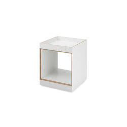Henry | Container small, white | Étagères | Magazin®