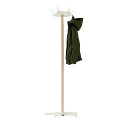 Belgo | Wardrobe, ash / pure white RAL 9010 | Coat racks | Magazin®