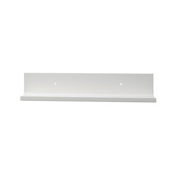 Tragleiste | Shelf 60x10cm, white | Shelving | Magazin®