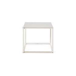 Shelf Tara small, pearl white RAL 1013 | Shelving | Magazin®