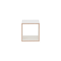 Shelving System Echobox - Cube, white | Estantería | Magazin®