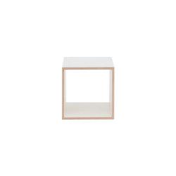 Echobox | Shelving System - Cube, white | Scaffali | Magazin®
