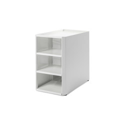Imelda | Shoe Box, pure white RAL 9010 | Shelving | Magazin®