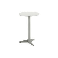 Bistro Table Construct, light grey RAL 7035   Tables d'appoint   Magazin®