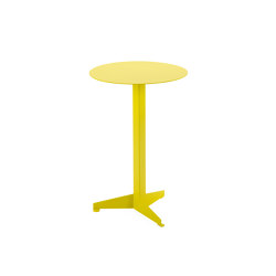 Bistro Table Construct, sulfur yellow RAL 1016 | Side tables | Magazin®