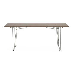 Table and Bench BTB, tabletop agate grey RAL 7038 | Dining tables | Magazin®