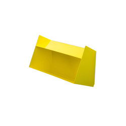 Schlund | Wall Shelf, sulfur yellow RAL 1016 | Shelving | Magazin®