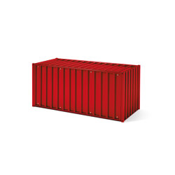 Container DS, tomato red orange RAL 3013 | Sideboards | Magazin®