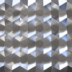 Foldwall 100 - silver crystal | Wall panels | Foldart