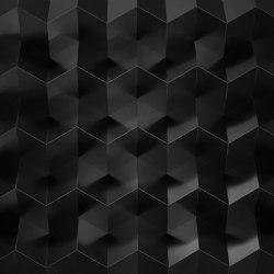 Foldwall 100 - Organoid leaf RAL 9005   Wall panels   Foldart