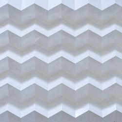 Foldwall 100 - Organoid leaf RAL 9016   Wall panels   Foldart