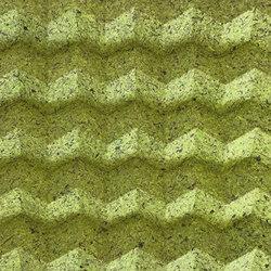 Foldwall 100 - Organoid moss | Pannelli per pareti | Foldart