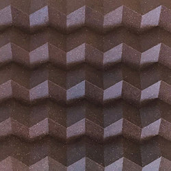 Foldwall 100 - Organoid pine bark | Pannelli per pareti | Foldart