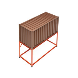 Container DS, pale brown RAL 8025 | Aparadores | Magazin®