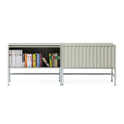 Container DS, pebble grey RAL 7032 | Credenze | Magazin®