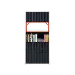 Container DS, black grey RAL 7021 | Credenze | Magazin®