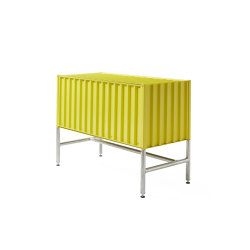 Container DS, sulfur yellow RAL 1016 | Credenze | Magazin®