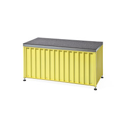Container DS, sulfur yellow RAL 1016 | Aparadores | Magazin®