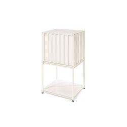 Shelf Tara small, pearl white RAL 1013 | Credenze | Magazin®