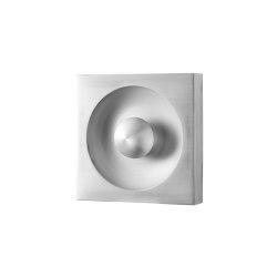 Spiegel Wall & Ceiling Lamp Brushed Aluminium | Wall lights | Verpan