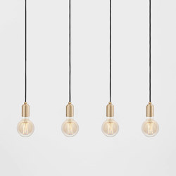 Elva Brass Ceiling Light | Suspensions | Tala