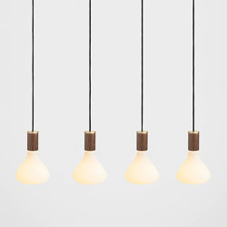 Noma Walnut Ceiling Light | Suspensions | Tala