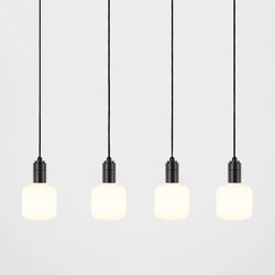 Oblo Graphite Ceiling Light | Suspensions | Tala
