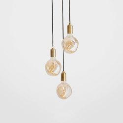 Voronoi I Brass Ceiling Light | Suspended lights | Tala