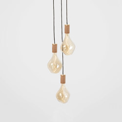 Voronoi II Oak Ceiling Light | Suspensions | Tala