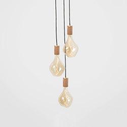 Voronoi II Oak Ceiling Light | Suspended lights | Tala