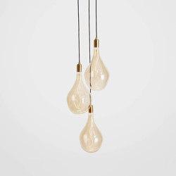 Voronoi III Brass Ceiling Light | Suspended lights | Tala