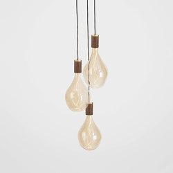 Voronoi III Walnut Ceiling Light | Suspended lights | Tala