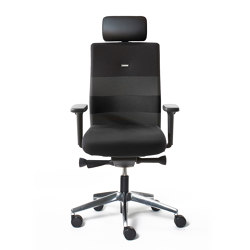 agilis | Office chair with headrest | Sillas de oficina | lento