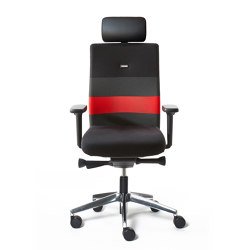 agilis | Office chair with headrest | Sillas de oficina | lento