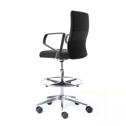 agilisDH | Counter chair | Sillas de trabajo altas | lento