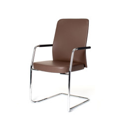 agilis matrix | Cantilever with integrated armrests | Chairs | lento