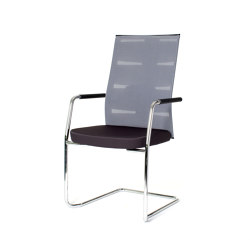 agilis matrix | Cantilever with integrated armrests | Sillas | lento