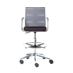 agilis matrix | Counter chair | Sillas de trabajo altas | lento