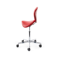 sella | Saddle chair with backrest | Taburetes de oficina | lento