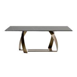 Bon Bon 770/TG-R | Dining tables | Potocco