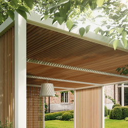pavilion h simple | Gazebos | KETTAL