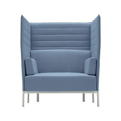 Eleven High Back 865 | Armchairs | Alias