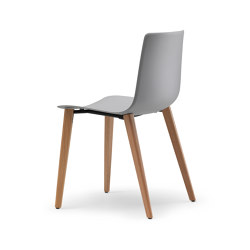 Slim Chair Wood 89E | Sillas | Alias