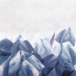 Mineral | Carta parati / tappezzeria | Inkiostro Bianco