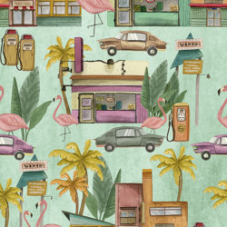 South Beach | Wall coverings / wallpapers | Inkiostro Bianco