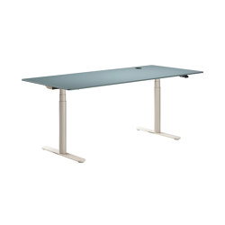 HiLow 2 | Height-adjustable work desks | Contract tables | Montana Furniture