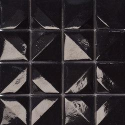 Crono Nova | Nero | Mosaïques verre | Mosaico+