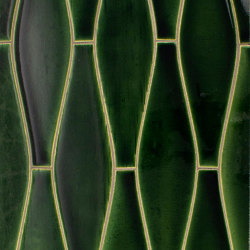 Large Elongated Ogee Portland Field | Carrelage céramique | Pratt & Larson Ceramics
