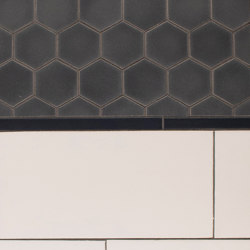 "2"" Hex Portland Field Netted| ½ x 8 Portland Field | 5x10 Portland Field | Carrelage céramique | Pratt & Larson Ceramics"