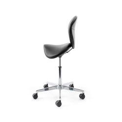 sella | Saddle chair with backrest | Taburetes de oficina | lento